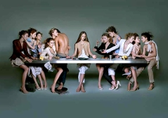trh umc last supper - Marithe & Francois Girbaud