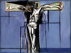 Crucifixion 1946 Graham Sutherland OM 1903-1980 Purchased 1947 http://www.tate.org.uk/art/work/N05774