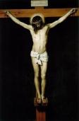 trhumc- Korsfestelsen malt av Velazquez