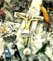 trhumc- Marc Chagalls %22White Crucifixion%22 (1938) skal være et av pave Frans' favorittbilder