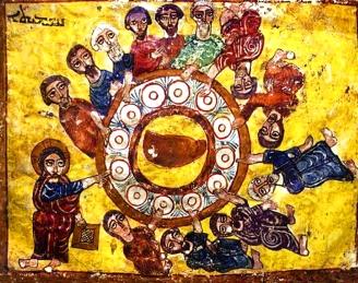 trhumc-skjærtorsdag syrisk ikon 1200